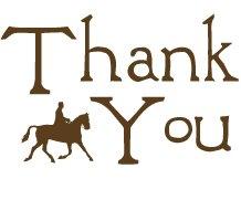 Thank you horse